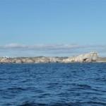 Aanloop Camaret-sur-Mer vanaf Biskaje