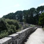 Foto's van vanaf en op het kasteel van Baiona (10)