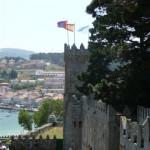 Foto's van vanaf en op het kasteel van Baiona (12)