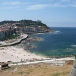 Foto's van vanaf en op het kasteel van Baiona (4)