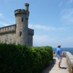 Foto's van vanaf en op het kasteel van Baiona (7)