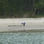 Op avontuur met de bijboot de rivier af met laagwater (1)