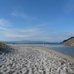 Op het strand van de Ensenada de Barra (1)