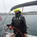 Vertrek Guernsey in vette pak