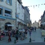 We lopen naar het dorp Roscoff (4)