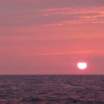 Zonsondergang op de seine baai (5)
