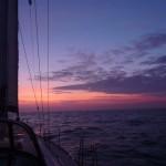 Zonsopgang op de Noordzee (1)