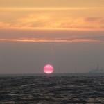 Zonsopgang op de Noordzee (6)